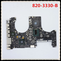 820 3330 B for pro A1286 2012 i7 3615QM 2.3Ghz 661 6491MD103 logic board motherboard Chargers     -