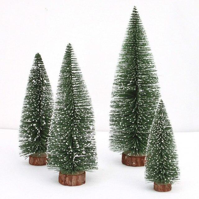 Schmuck Für Weihnachtsbaum.Us 1 96 15 Off Neue 1 Stücke Mini Weihnachtsbaum Stick Weiße Zeder Tabletop Schmuck Kleine Weihnachtsbaum Weihnachtsdekoration Für Zuhause