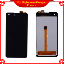 """Оригинальный жк-дисплей для highscreen omega prime s смартфон 4.7 """"сенсорный экран панели стекла digitizer ассамблеи fpc9231t"""