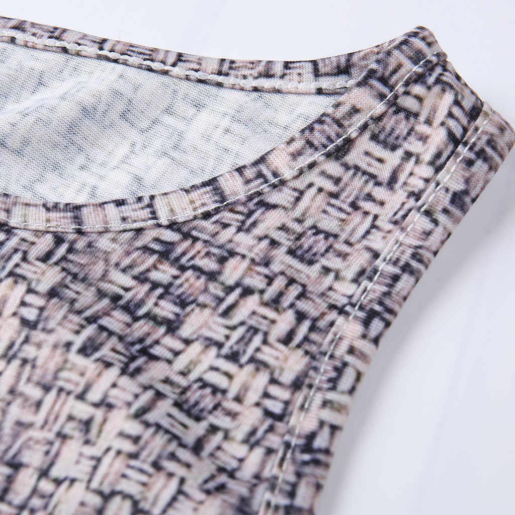 Женское Бандажное сексуальное облегающее платье без рукавов с принтом, летнее платье 2019, женские вечерние платья в стиле пэчворк, мини платье #0522