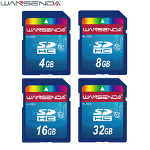 Hotsale WANSENDA SD Memory Card 64gb 32gb class 10 sd card 4gb 8gb 16gb Transflash SDHC SDXC TF Card Flash Card USB memory