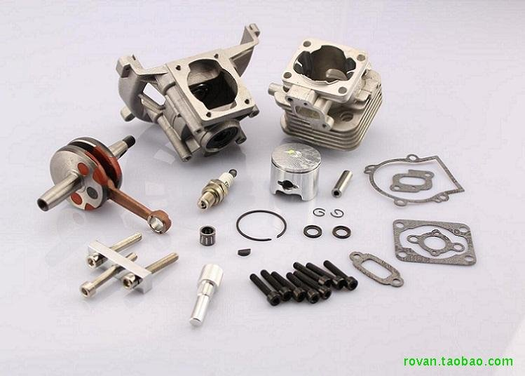 Baja upgraded parts for 30.5cc engine UPGRADE KIT 2 change 4 BOLT   the same with ZENOAH 30.5cc baja rc reed valve system for cy zenoah engine
