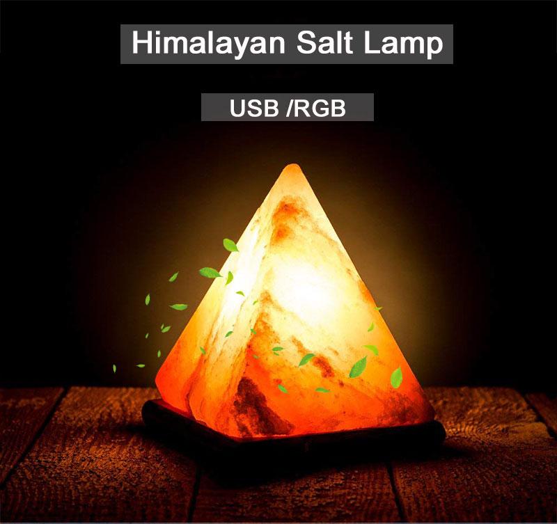 Lampara de sal - USB