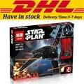 EN Stock LEPIN 05049 863 Unids Star Wars Imperial Shuttle Modelo Kit de Construcción de Bloques de Ladrillos Compatibles Krennic Juguete de Los Niños 75156