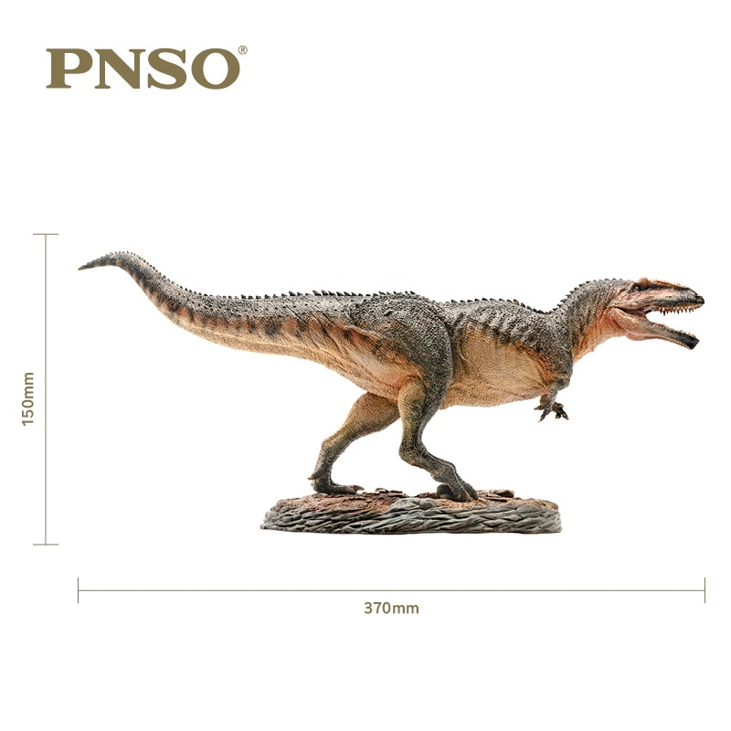 1:35 PNSO Giganotosaurus Con Piedistallo Piattaforma Dinosauro Giocattoli Classici Per I Ragazzi Raccogliere Bambola Animale Modello Ganascia mobile-in Action figure e personaggi giocattolo da Giocattoli e hobby su  Gruppo 1