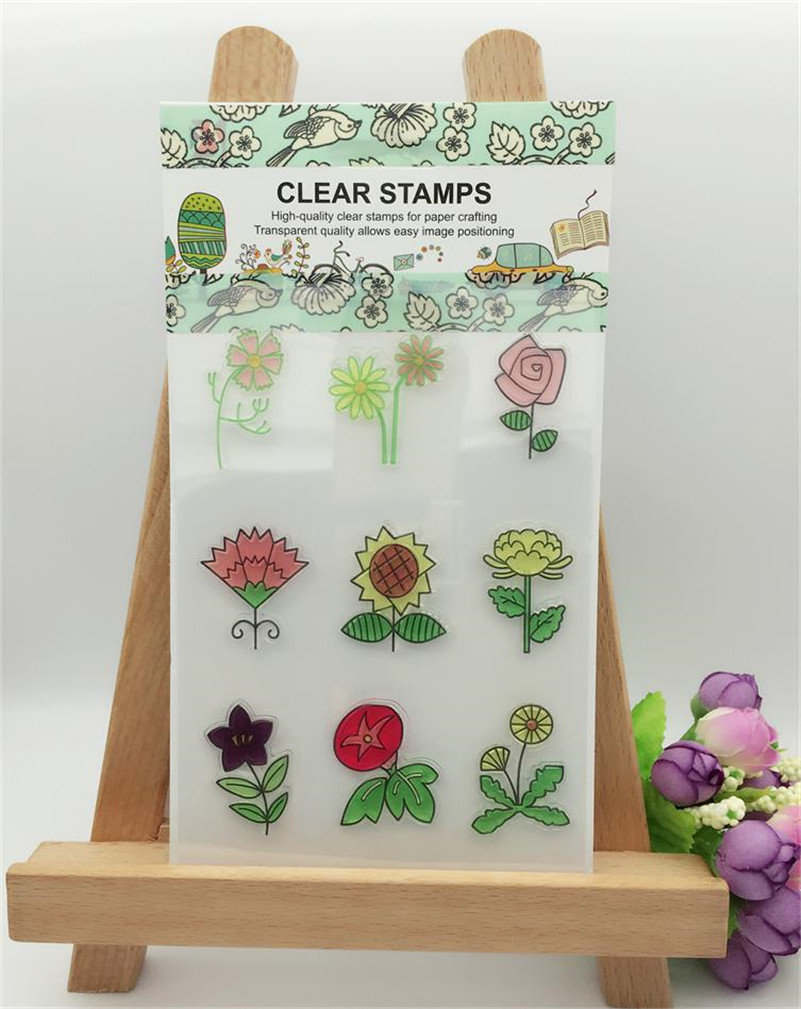 lovely princess design Transparent Clear Stamp Seal For DIY Scrapbooking Decorative Clear Stamp Sheets LL-281