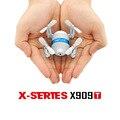 MJX X909T 5.8G Mini FPV Quadcopter Com Câmera HD 3D Flips Controle Remoto Nano Quadcopter Mini Drone RTF Modo 2 Drones