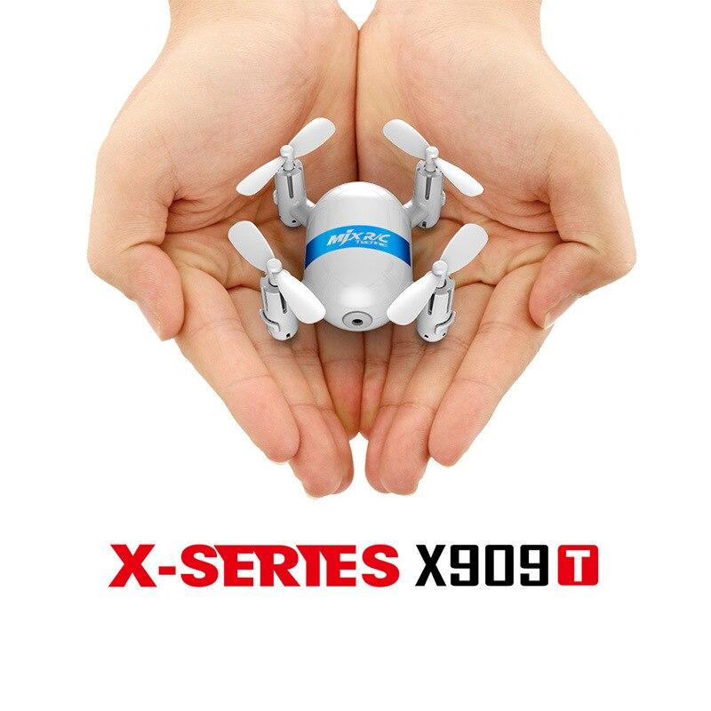MJX X909T 5.8G Mini FPV Quadcopter With HD Camera 3D Flips Remote Control Nano Quadcopter Mini Drone RTF Mode 2 Drones mini quadcopter