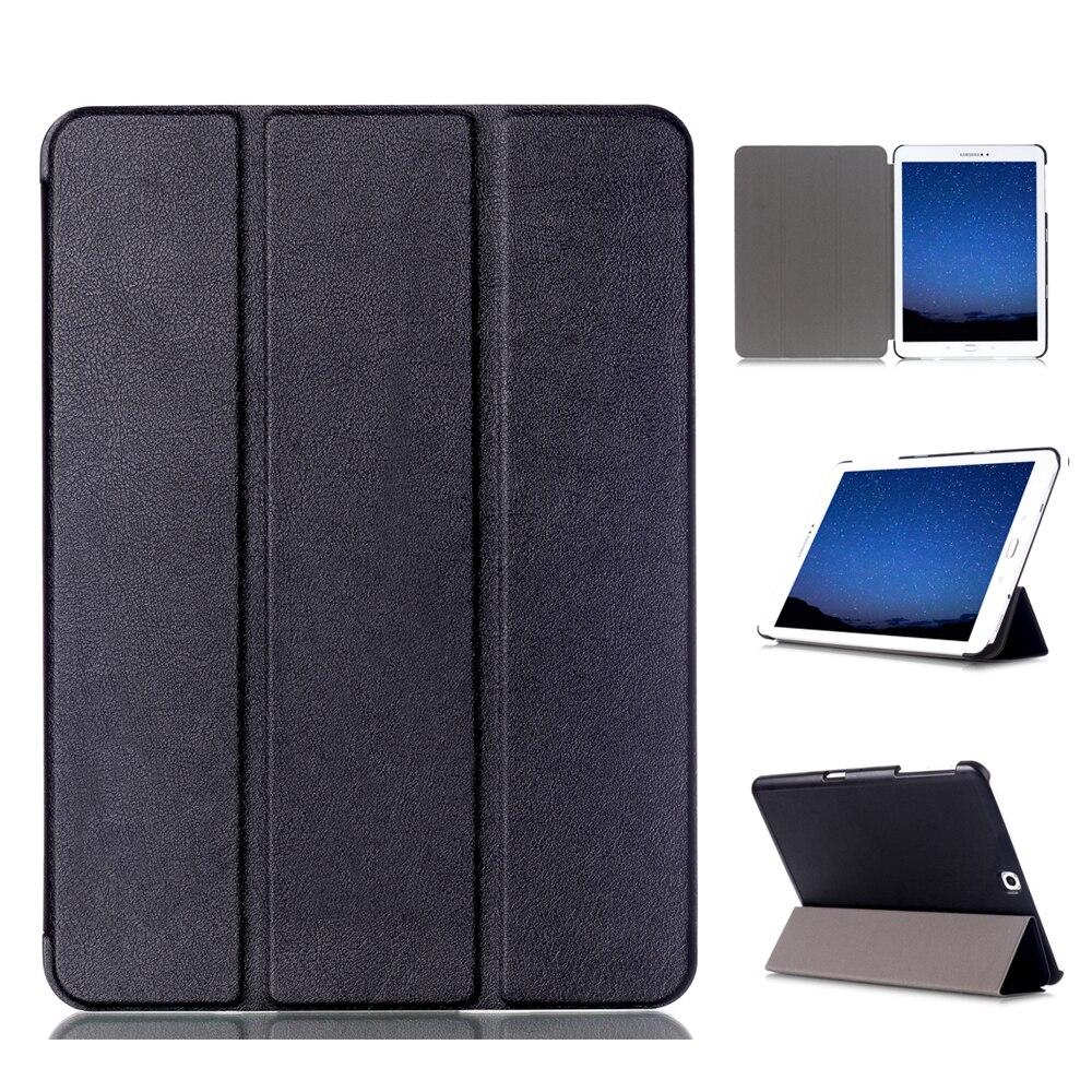 Caso per Samsung Galaxy Tab S2 9.7 Sottile Del Basamento di Vibrazione Smart Cover PU Custodia In Pelle per Samsung Galaxy Tab S2 9.7 T810 T813 T815 T819