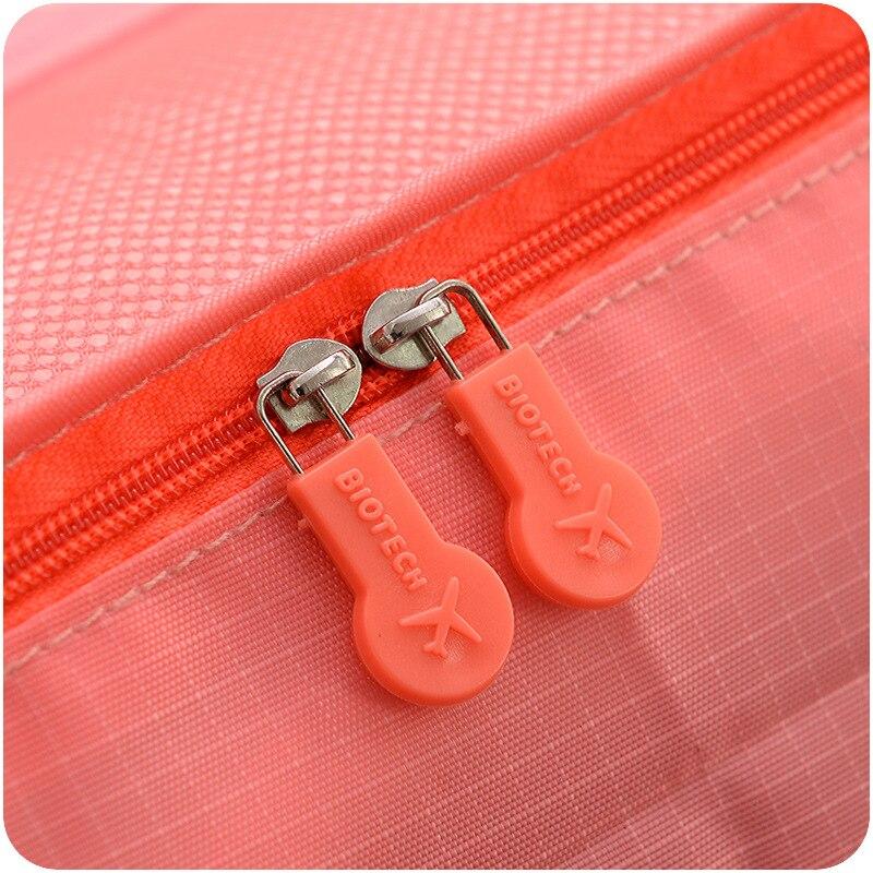 Koleksiyon çanta seyahat çantası seti 6 adet / takım Erkekler ve - Bagaj ve Seyahat Çantaları - Fotoğraf 4