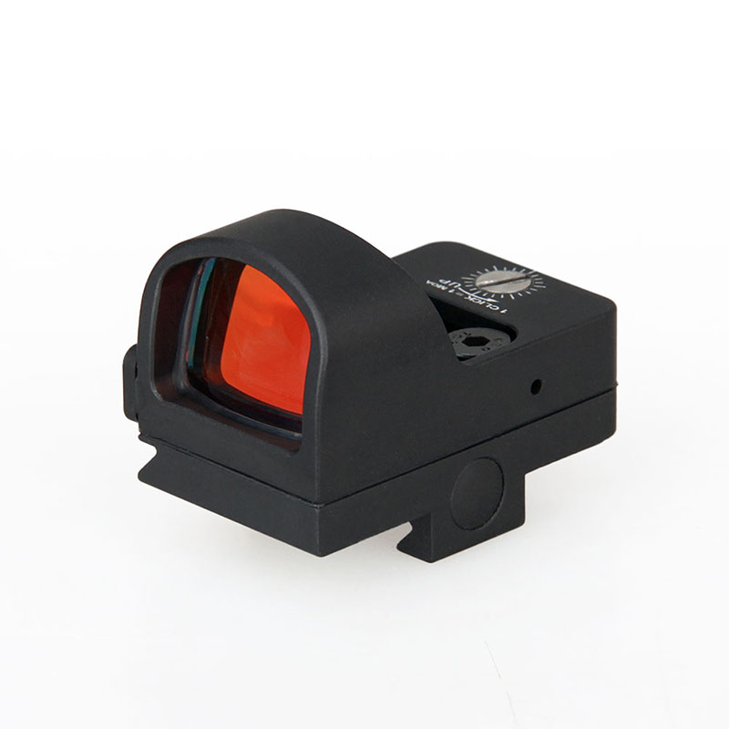Free Shipping Tactical Mini Red Dot Scope Rifle Point Sight Magnification 1X For Hunting CL2-0078 canis latrans tactical mini 1x red 2moa dot dot size free shipping cl2 0078