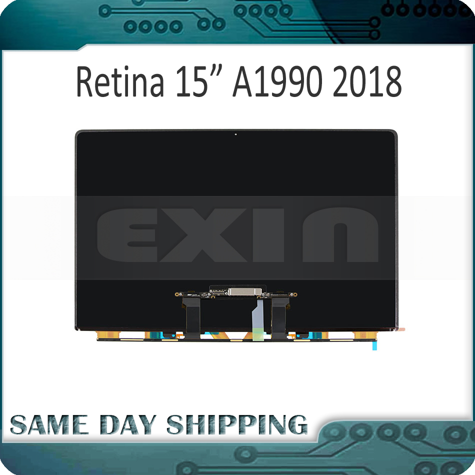 Genuine New Laptop LCD LP154WT5 SJA1 for Apple MacBook Pro Retina 15 A1990 LCD LED Screen Display 821-00691-02 Mid 2018 Year original new laptop a1990 lcd lp154wt5 sja1 for apple macbook pro retina 15 a1990 lcd led screen display mid 2018 year