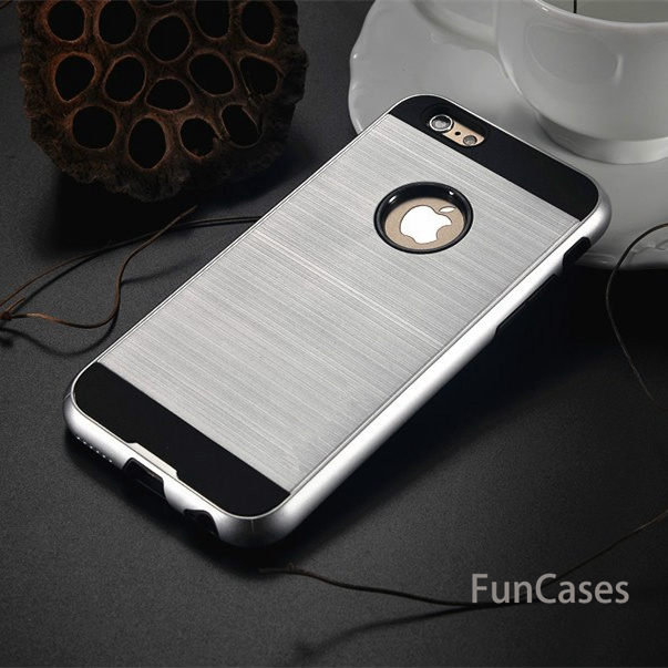 For iphone 7 plus case NEW Luxury Brand V5 Brushed Tough Ultra Thin Hybrid Armor Phone Case cover For iphone 5 5S SE 6 plus 6s image