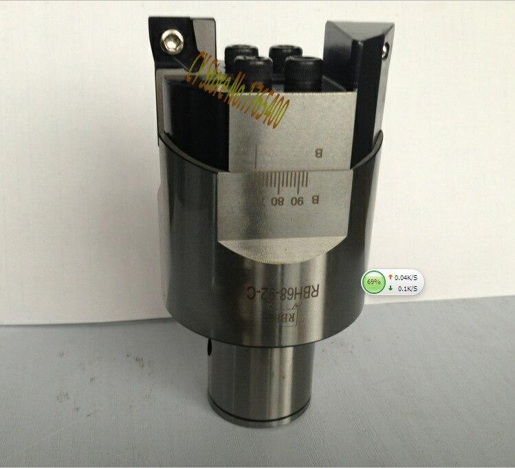 High precision RBH 68-92mm Twin-bit Rough Boring Head used for deep holes,0.02mm Grade boring tool New цены онлайн