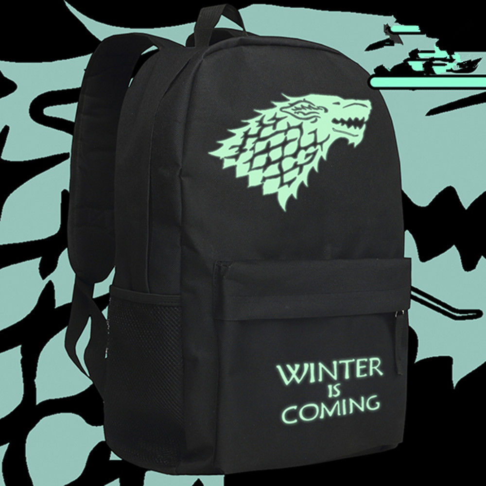 Game of Thrones Rucksack backpack House Stark winter is coming Freizeit Rucksack Cosplay Accessories