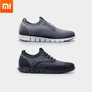 Image 1 - Xiaomi orijinal Coollinght serisi spor ayakkabı iş erkek yumuşak tabanlı ayakkabı Brock rahat ayakkabılar