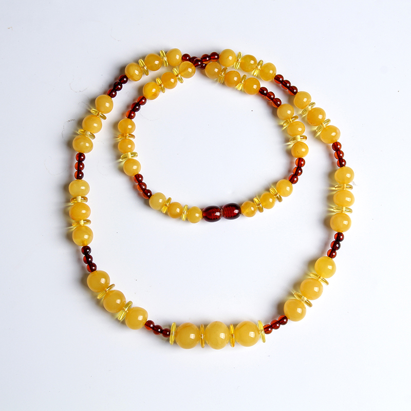 лучшая цена Natural amber beeswax treasure necklace beeswax beads with blood purse chain men and women more than treasure chain necklace