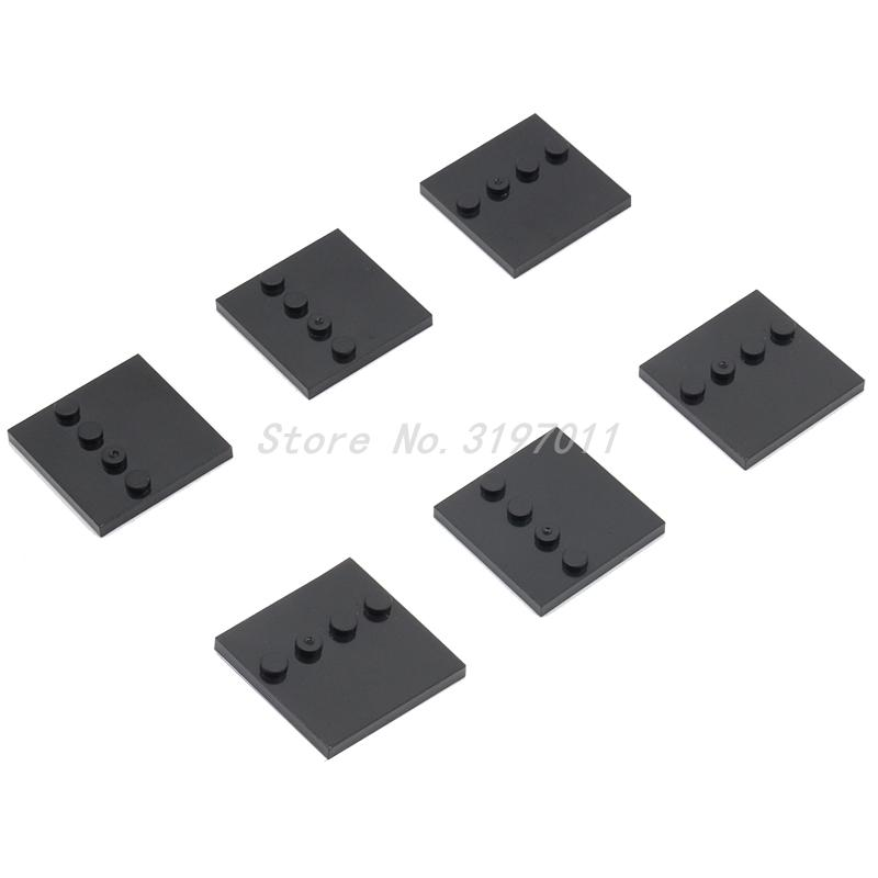 Wholesale 100pcs lot Stand Base Plate Part for Block Small Particles 1 4 Bricks Plate Star