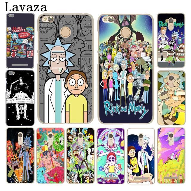 lavaza rick and morty season hard phone case for xiaomi redmi 4a s2