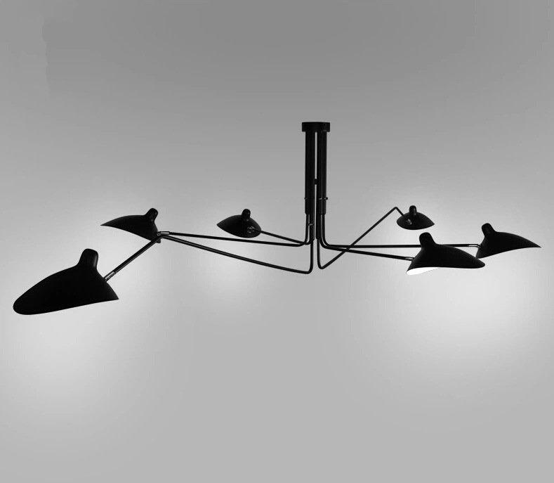 Deckenleuchten Lampe Nordic Eisen Spinne Lampen Retro Industriellen Loft Wohnzimmer Knstlerische Lampenschirm DeckenleuchteChina