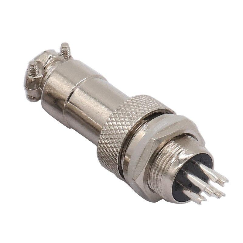 1set GX12 Aviation Circular Connector 2/3/4/5/6/7 Pin Male & Female 12mm L88-93 Circular Aviation Plug Socket Wire Panel