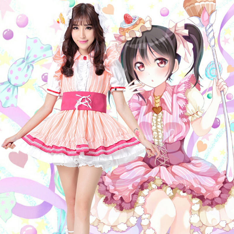 Love Live Ze Nicole conejos Cosplay trajes kawaii Lolita princesa ...