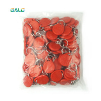 1000pcs/lot RFID Tag Proximity ID Token Tag Key Keyfobs Ring 125Khz RFID Card ID Token Tags for Access Control Time Attendance