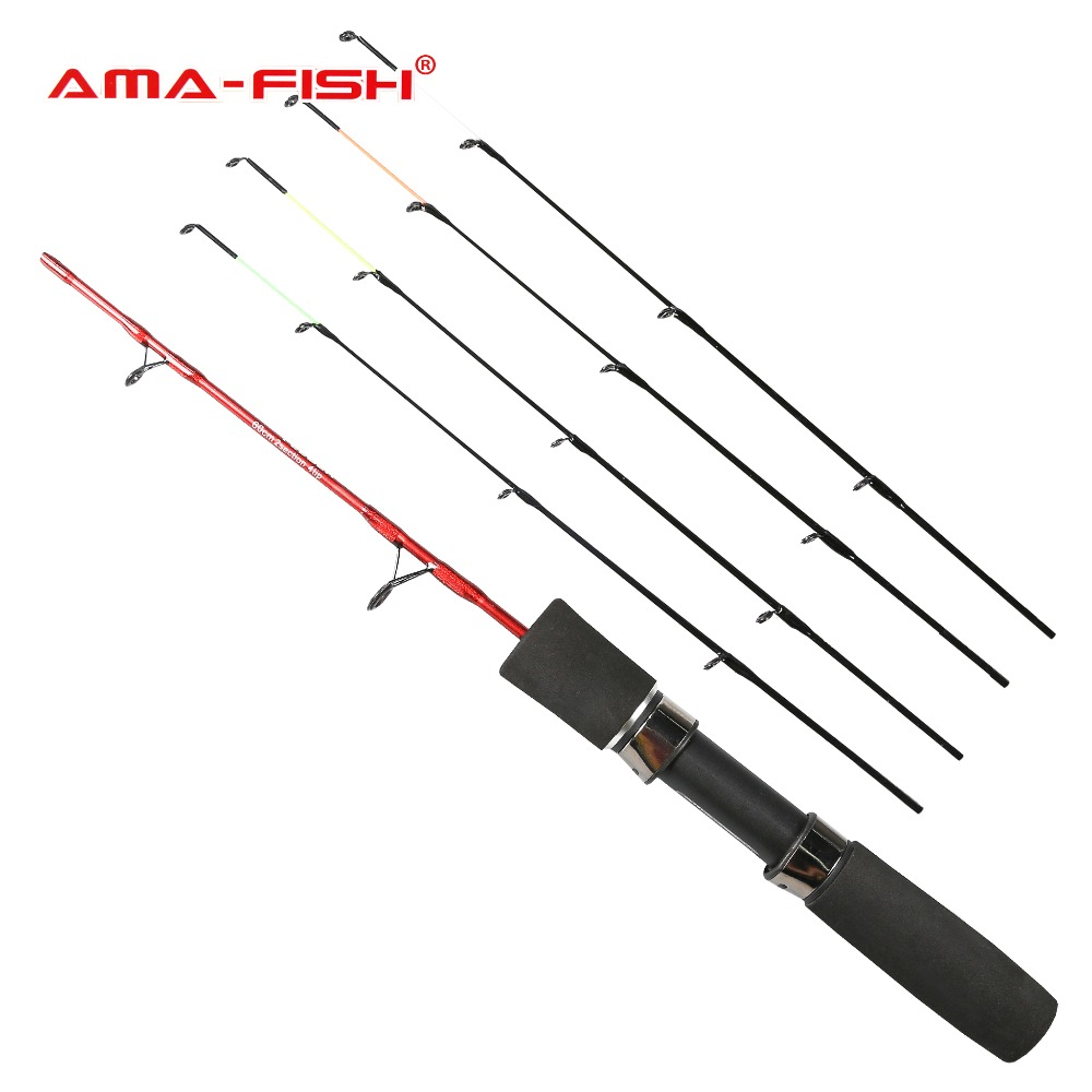 AMA-FISH Winter Fishing 60cm Carbon Fiber Fishing Rod 2+4 Sections Ice Fishing Rod Tackle (Russia Local Delivery) atamjit singh pal paramjit kaur khinda and amarjit singh gill local drug delivery from concept to clinical applications