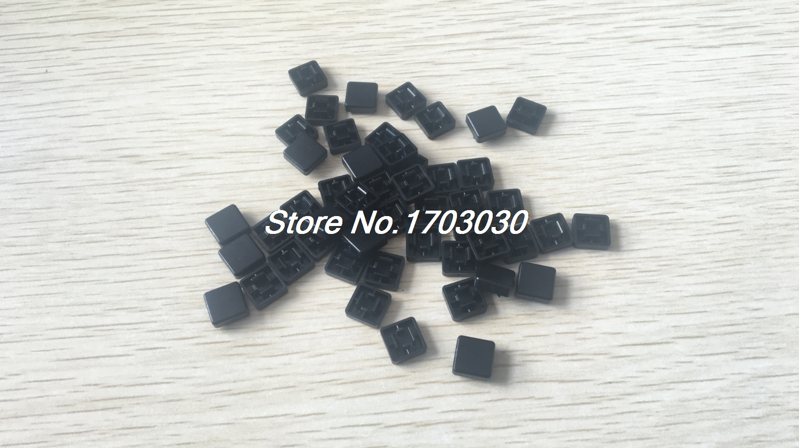 50pcs Square Shaped Plate Tactile Push Button Switch Tact Caps Protector 50pcs lot 6x6x7mm 4pin g92 tactile tact push button micro switch direct self reset dip top copper free shipping russia