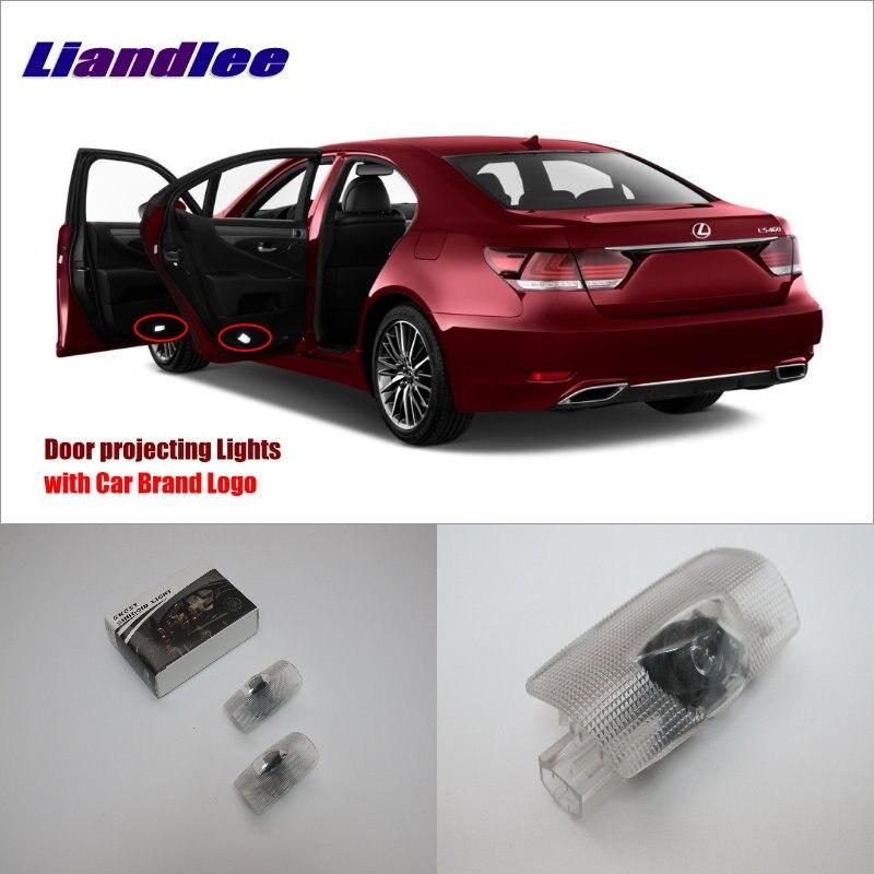 Liandlee Car Door Ghost Shadow Lights For Lexus LS 2003~2012 / GX 2010~2014 Courtesy Doors Lamp / LED Projector Welcome Light