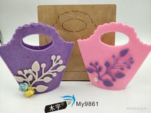 Deep pink bag DIY wooden mold die cut accessories wooden die Regola Acciaio Die Misura ,MY футболка acciaio