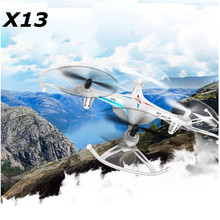 Free shipping X13 2.4G racing RC drone  a six-axis gyroscope RC 3D Helicopter Toys quadcopter kids RC toy  VS X5C V686 X400