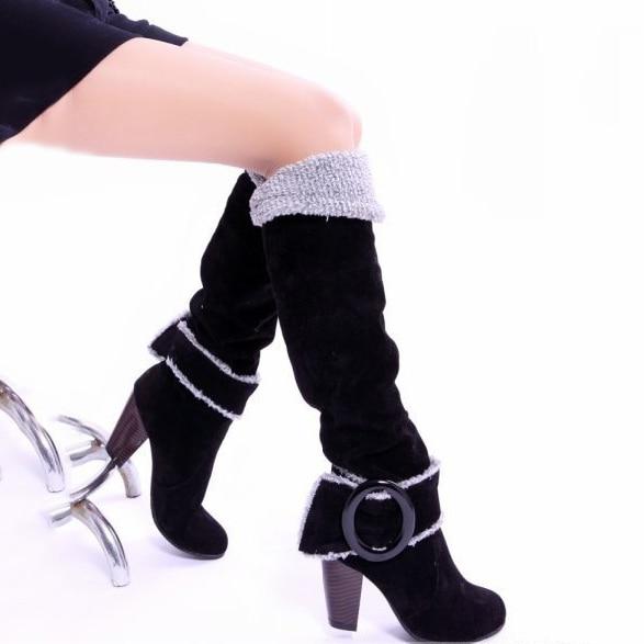 Online Get Cheap Blue Leather Boots for Women -Aliexpress.com