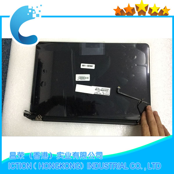 A1502 Laptop New Original A1502 LCD Display Assembly 2015 For Macbook Pro Retina 13' A1502 LCD Screen Display Assembly original a1502 a1425 a1398 lcd led lvds display screen cable for apple macbook pro retina 13 15 2012 2013 2014 2015 year