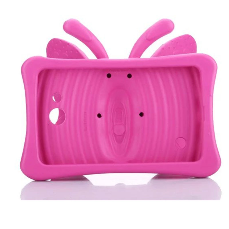 Case For Samsung Galaxy Tab 3 4 7 0 T2105 T210 T230 Life T110 T116 T280  T285 Kids Friendly 3D Cute Butterfly Wings Stand Cover