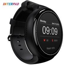 2017 interpad ОС Android 5.1 i4 воздуха Смарт часы 2 ГБ/16 ГБ GPS Wi-Fi 3 г Bluetooth SmartWatch Поддержка Google Play для iphone 8