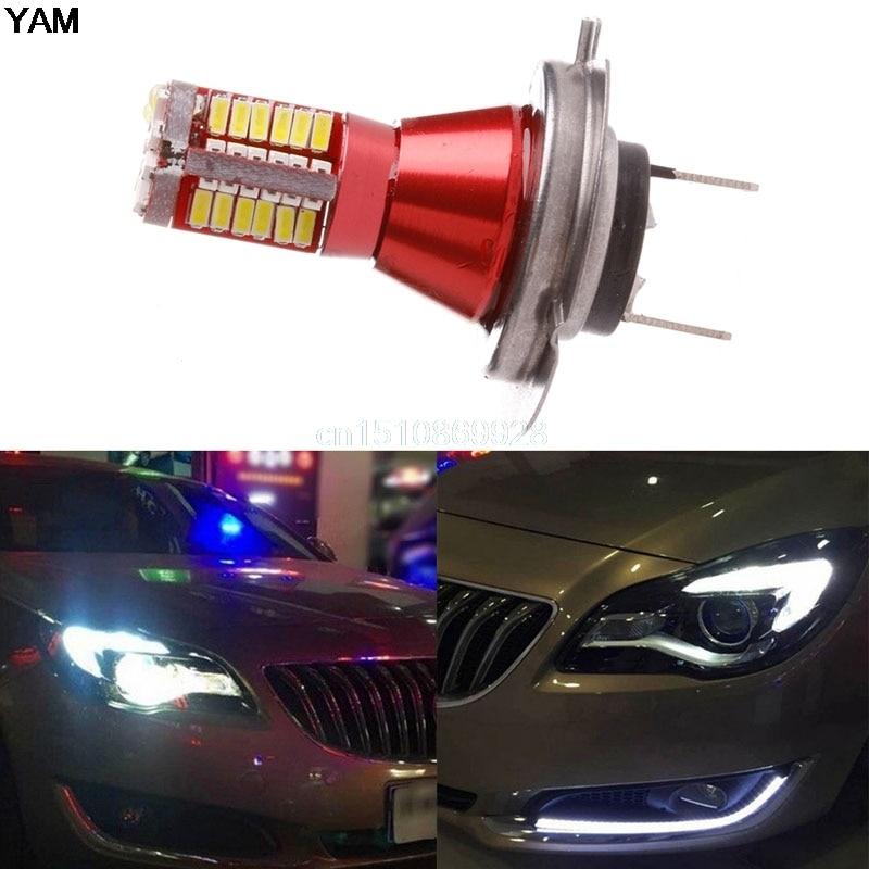 Lights & Lighting Contemplative Light Bulbs 3014 57 Smd Canbus Error Free Car Led Side Light Bulbs Car Fog Lamp White M126 Hot Sale