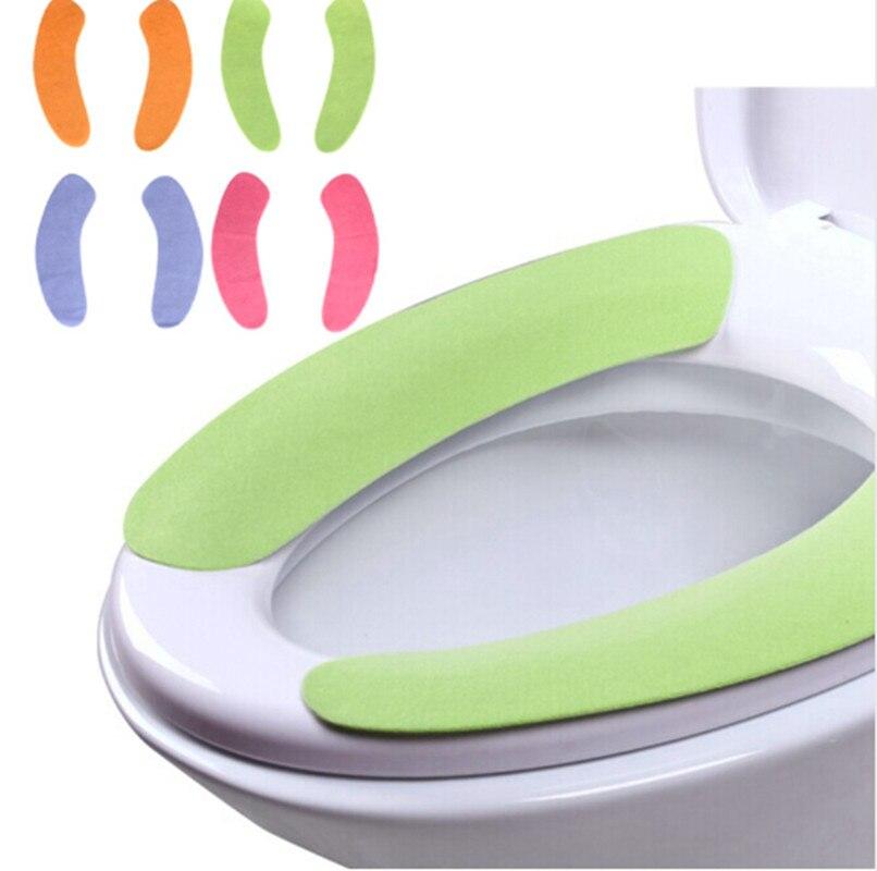 Моющиеся липкий сиденья коврик, переработке унитаза колодки, Водонепроницаемый Cuttable сиденье стула, туалет табурет Вставить