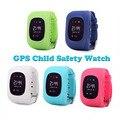 Crianças criança anti-perdido smart watch gsm gprs relógio gps localizador criança guarda para ios android relógio de pulso q50 gsm marca