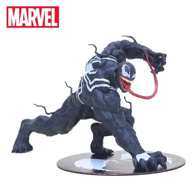 12 centímetros Maravilha ARTFX Brinquedos the Amazing Venom Spider Man Venom Figura ARTFX 1/10 Scale Ação PVC Figuras de Super-heróis Colecionáveis modelo