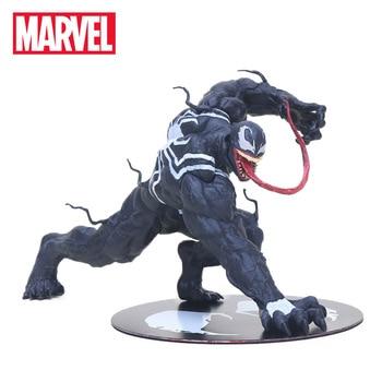 12 cm Marvel Zabawki ARTFX Niesamowite Venom Spider Man Rysunek Venom ARTFX 1/10 Scale PVC Action Figures Superhero Kolekcjonowania model