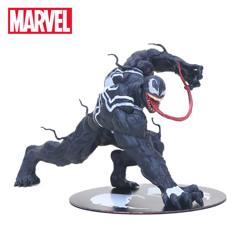 12cm Marvel Toys ARTFX the Amazing Venom Spider Man Figure Venom ARTFX 1/10 Scale PVC Action Figures Superhero Collectible Model the punisher action figures 1 12 scale pvc action figure collectible model toy anime punisher superhero toys