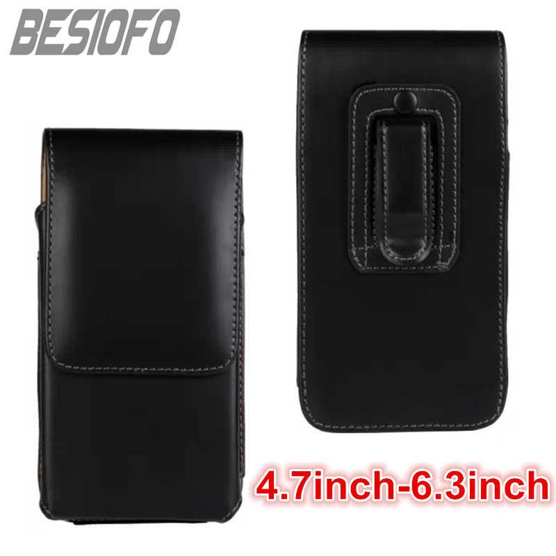 Спортивная крышка с зажимом для крепления к поясному ремню поясная сумка Вертикальный чехол сумка кожаный чехол для телефона для LG G2 G3 G4 G5 G6 G7 G8 V20 V30