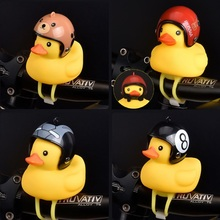 Little Duck Shape Bicycle Bells Shining bicycle bell dzwonek rowerowy cycling bike Accessorie Cute horn bocina bicicleta