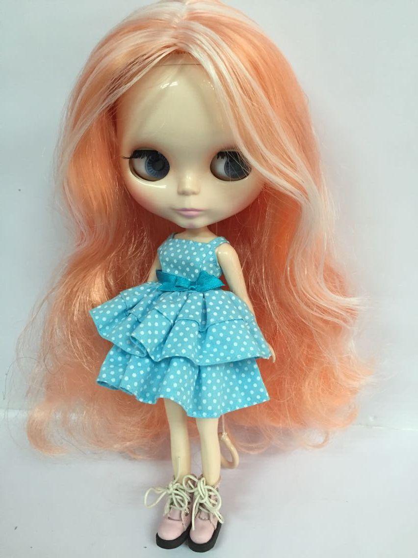 Aliexpress.com : Buy Nude Blyth Doll,orange hair , Factory