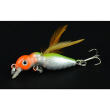 HENGJIA Fishing Lure Deep fly Hard Bait Ocean Rock Fish Artificial Baits Style insect lure fish bait cheap fishing lurs 10 Hook