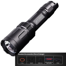 Tactical Flashlight JETBeam TH20 LED CREE XHP70.2 LED MAX. 3450LM beam distance 320 meters + 2600mAh high-rate 18650 battery