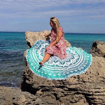 Hot Sales Bikini Beach Donut Cover Up Robe De Bain Swimsuit Cover Ups Pareos Beach Sarongs Mats Summer Beach Swimwear Women 6