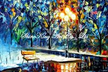 palette knife oil painting  modern oil painting canvas oil painting K290