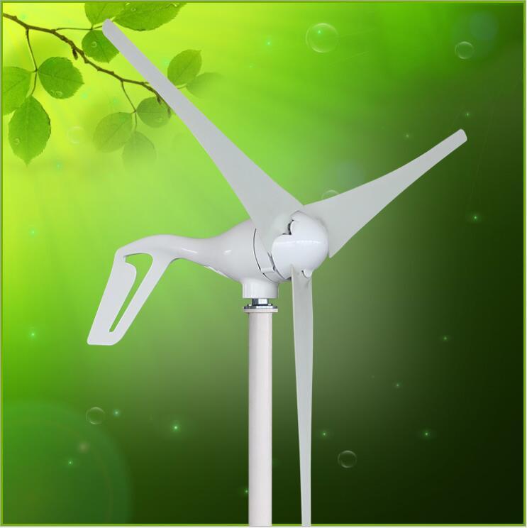 Usine! Mini 12 v 24 v turbine/générateur 400 w 3/5 lames petit moulin générateur vent